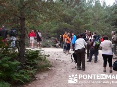Senderismo Cueva Valiente - Sierra de Malagón; tiendas senderismo madrid